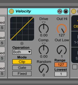 Live9のエフェクトを遊ぶ。01『Velocity』