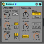 Live9のエフェクトを遊ぶ。06『Damien』