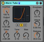 Live9のエフェクトを遊ぶ。12『Warm Tube』